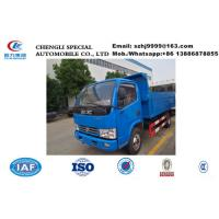 Best Factory selling bottom price 3tons dongfeng 4*2 LHD garbage dump truck, 2019s best price 3tons China dump garbage truck wholesale