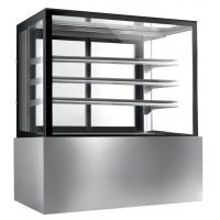 Best Commercial Glass Cake Display Cabinet , Auto Defrost Cake Display Chiller,1800mm Length and 800L Cake Fridge wholesale