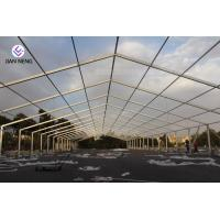 Best Aluminum Frame Outdoor Warehouse Tents , Warehouse Storage Tent With High Capacity wholesale