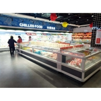 China 440L Supermarket Refrigeration Equipments For Frozen Food on sale