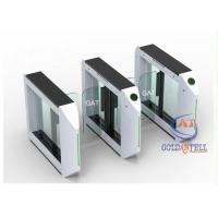 China Outdoor&Indoor IC ID Card Access Control Painted Swing Gate , High Class Swing Gate on sale