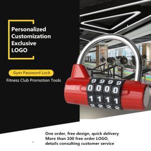 Best D Type Locker Padlock 4 - Digit For Gym / Student Dormitory Management wholesale