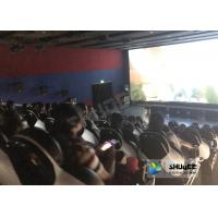 Best Entertainment Genuine Leather Motion Chairs XD Theatre In 4XD Cinema Hall wholesale