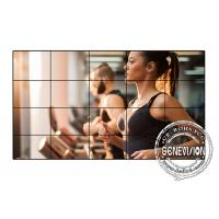 Best Samsung 55 Inches Digital Signage Video Wall , 3.5mm Video Wall Monitors HDMI Signal Input wholesale