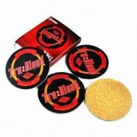 Best Cork/ Wooden Coasters with 3 to 5mm Thickness wholesale