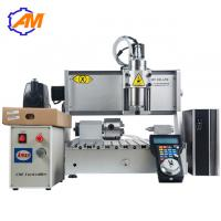 China AMAN 3040 metal cnc router 3d cnc wood engraving machine best price 3040 wood board engraving router machine on sale