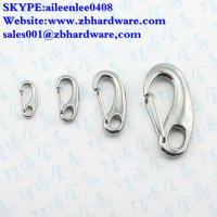 Cheap manufacturing stainless steel 304/316 egg shape snap hook / mini snap hook for sale
