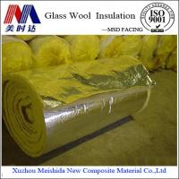 China Glass Wool Insulation Blanket Alu Foil on sale