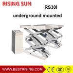 Best Double platform hydraulic scissor used vehicle auto lift  for garage equipment wholesale