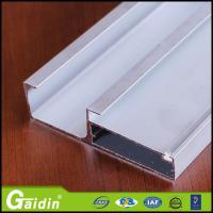 China Aluminium Extrusion Profile manufacturer for cabinet door on sale