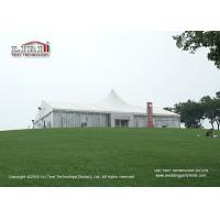 China White PVC Waterproof 20x30m Luxury Tent used  for Outdoor Wedding of 500 people on sale