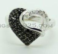 Best 925 sterling silver ring, lady's fashion ring wholesale