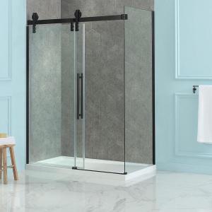 Best Customized Shower Glass Partition 8mm Frameless Glass Shower Doors wholesale