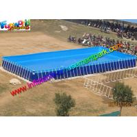 Details of summer rectangular pvc water inflatable Rectangular swimming pools for sale