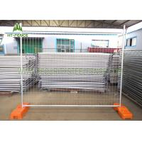 China 6ft × 12ft Chain Link Temporary Fence Panels , Mobile Construction Fence Panels on sale