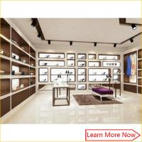 Best Nice color wall display shelves shoes for shoes shop interior design wholesale