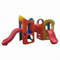 Indoor Playground Equipment, Made of Imported Plastic and HDPE