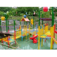 Best Custom Commercial Kids Amusement Park Water Slides Aquatic Play Structures wholesale