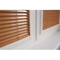 Best high quality timber blinds slat 25mm 50mm wholesale