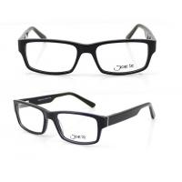 Best Rectangle Retro Hand Made Acetate Optical Frames for Unisex , 54-17-140mm wholesale