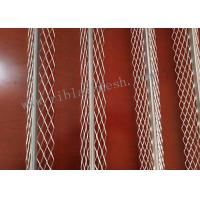 Buy cheap 3m Length Plaster Angle Bead Has A Smooth Round Nose Bead With Diamond Mesh from wholesalers