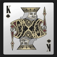 Best Full Color Printed Table Games Waterproof Plastic Playing Cards 24K Gold Foil wholesale