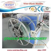 China Plastic Garden Hose PVC Pipe Production Machine With Double Extruders on sale