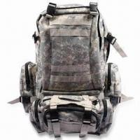 Buy cheap Backpack/Daypack/Tactical Pack, Made of 600D or 900D Polyester, Measures 40 x 27 from wholesalers