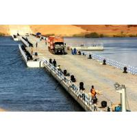 Buy cheap Heavy Loading Capacity Floating Water Bridge With Single Pontoon product