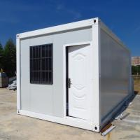Best China manufacture white bolted container house 3mx6mx2.7m, folding container house. wholesale