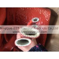 thermal resistant silicone fiberglass braided sleeve