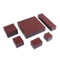 Best Luxury Jewellery Packaging Boxes , Wooden Jewelry Box SGS Certification wholesale