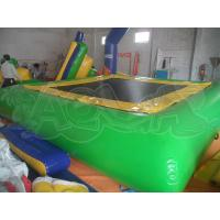 Best Inflatable Green Water Trampoline wholesale