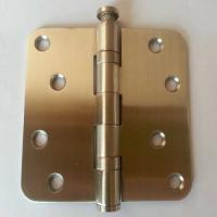 China Radius heavy duty 2 bearings stainless steel hinge with Long-term Service on sale