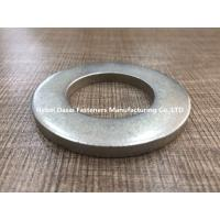 Best White Color Stainless Steel Flat Washers For Prevent Loose , Dispersed Pressure wholesale