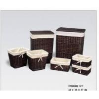 China willow laundry basket on sale