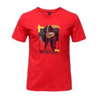 Buy cheap Bright Color Mens Trendy T Shirts Screen Printing from wholesalers