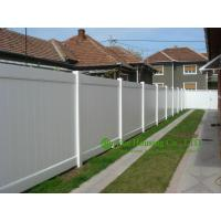 China White Color PVC Privacy Fence, House Private Fence, American Style Fence For Sale, Outdoor Villa Fence on sale