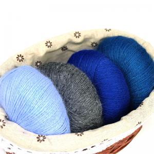 Buy cheap softly real fur 70%angora30%polyamide long hairy hand knitting yarn from wholesalers