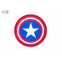 China Personalized Custom Morale Patches Pvc NEO Tactical Gear Captain America on sale