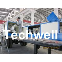 China 914-610 Mobile K Span Roll Forming Machine for 0.8 - 1.5mm K Span Arched Roof Panel on sale