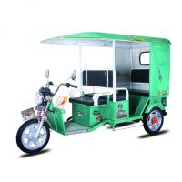Motorized Electric Powered Tricycle , Battery Operated Rickshaw For Street