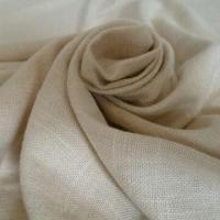 China Slub Yarn Linen Cotton Blend Fabric, Customized Requirements are Accepted on sale