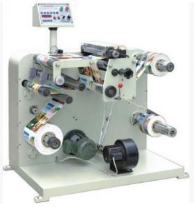 LC-320/420 narrow scope paper Label Slitter Rewinder machine