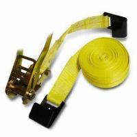 China Cargo Nets with 2 x 27 or 2 x 30 Inches Ratchet Strap and Flat-hook, Available in Various Colors on sale