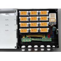 Best DIN Rail Mounting PLC Power Meter Box , Keypad Split Electric Meter Box Replacement wholesale