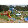 Buy cheap Fiberglass Adult Water Slide Games , 240 Riders Boomerango Water Slide from wholesalers