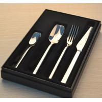 Best Stainless steel cutlery set with gift box/four pcs set/gift set/knife fork spoon tea spoon set wholesale