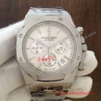 China Audemars Piguet Royal Oak Chronograph Stainless Steel Silver 072916 Watch on sale