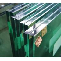 Best Durable 6.38 Clear Laminated Glass Sheets For Swimming Pools / Balcony Doors wholesale